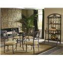 Bernards Diamond Tile Casual Dining Room Group - Item Number: DT Dining Room Group 1