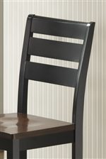 Ladder Back Bar Stool Design