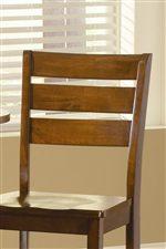 Ladder Back Bar Stool Design