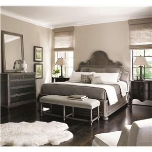 Bernhardt Belgian Oak Queen Bedroom Group