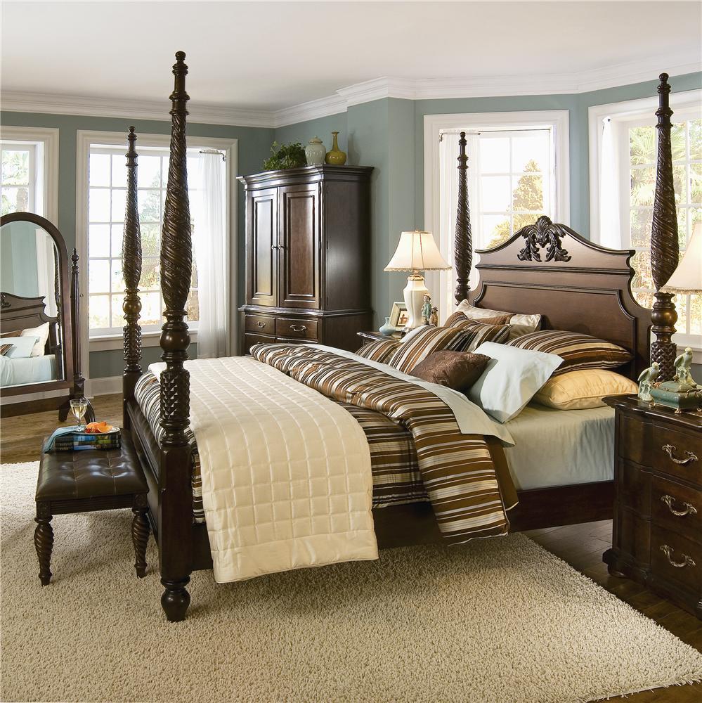 Bernhardt Belmont King Bedroom Group Stuckey Furniture Bedroom