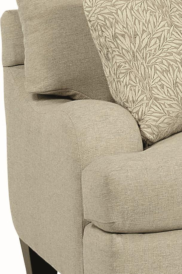 Bernhardt Brooke Upholstered Sofa With Block Legs   Wayside Furniture   Sofa