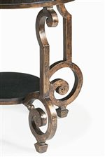Ornate Cast Iron Legs and Frame