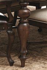 Turned Legs Evoke Traditional European Style