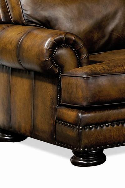 Foster Leather Sofa Bernhardt Town
