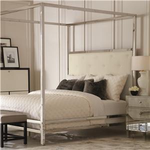 Bernhardt Landon Landon Metal King Poster Bed with Modern Art Style