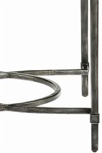 Metal Legs with Decorative Geometric Base Stretchers Can Be Found on the Palmer Metal End and Cocktail Tables