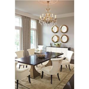 Bernhardt Jet Set Formal Dining Room Group
