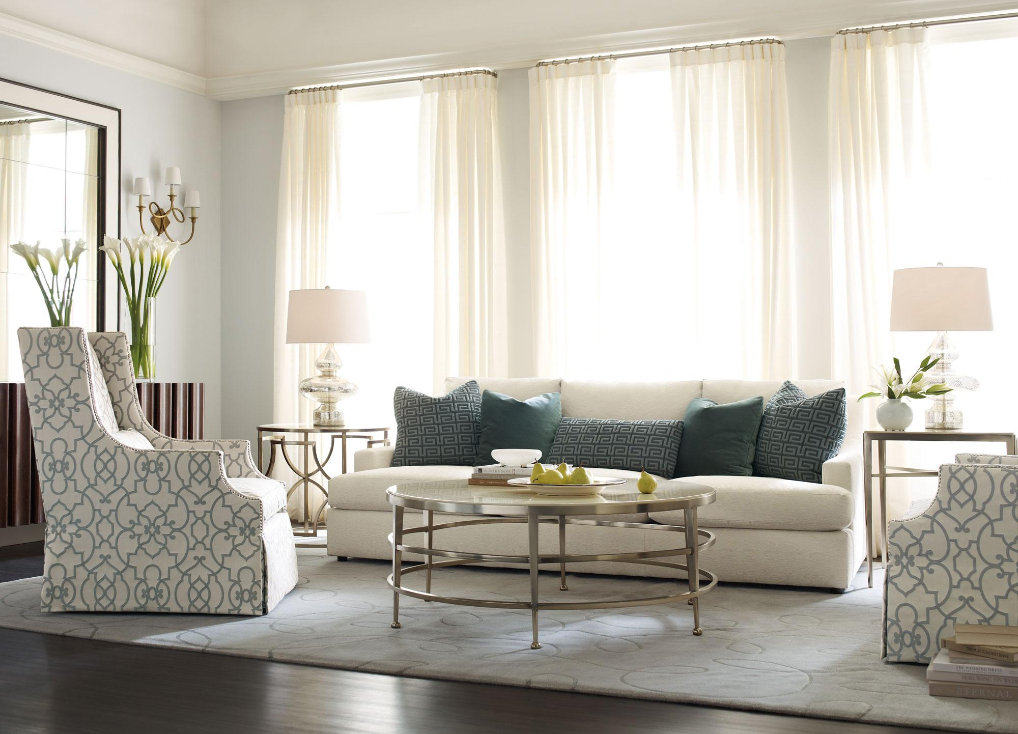 Bernhardt Josh Sectional Sofa with Five Seats Wayside Furniture