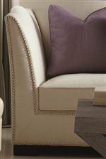 Slightly Curved Contemporary Silhouettes Cast Decorative Lines with a Fresh and Modern Elegance