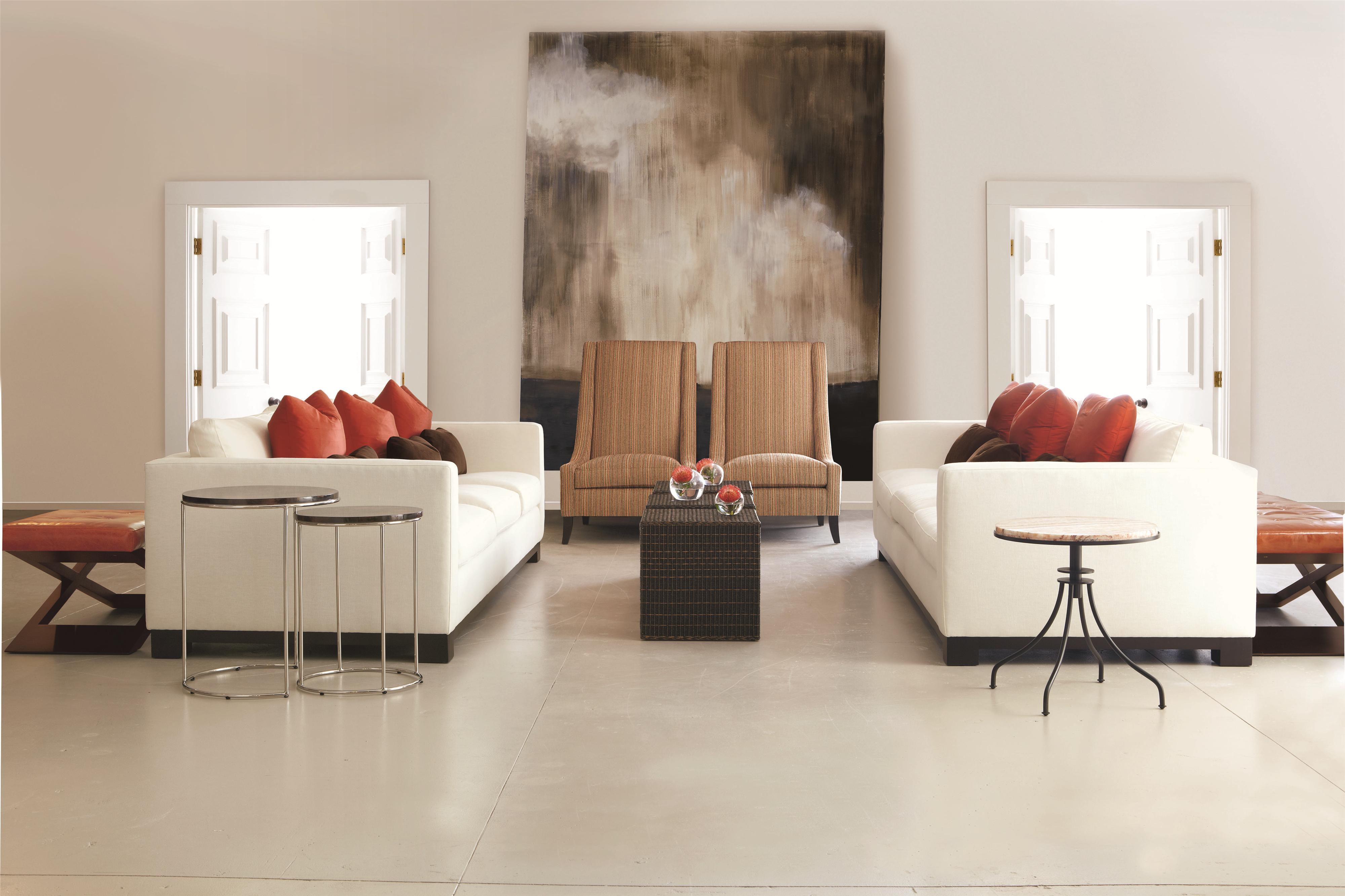 bernhardt living room furniture. Bernhardt Lanai Modern Styled Sofa with Slight Asian Influence in Standard  Size Sprintz Furniture Nashville Franklin and Greater Tennessee