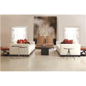 Bernhardt Lanai  Modern Living Room Chair with High End Furniture Style