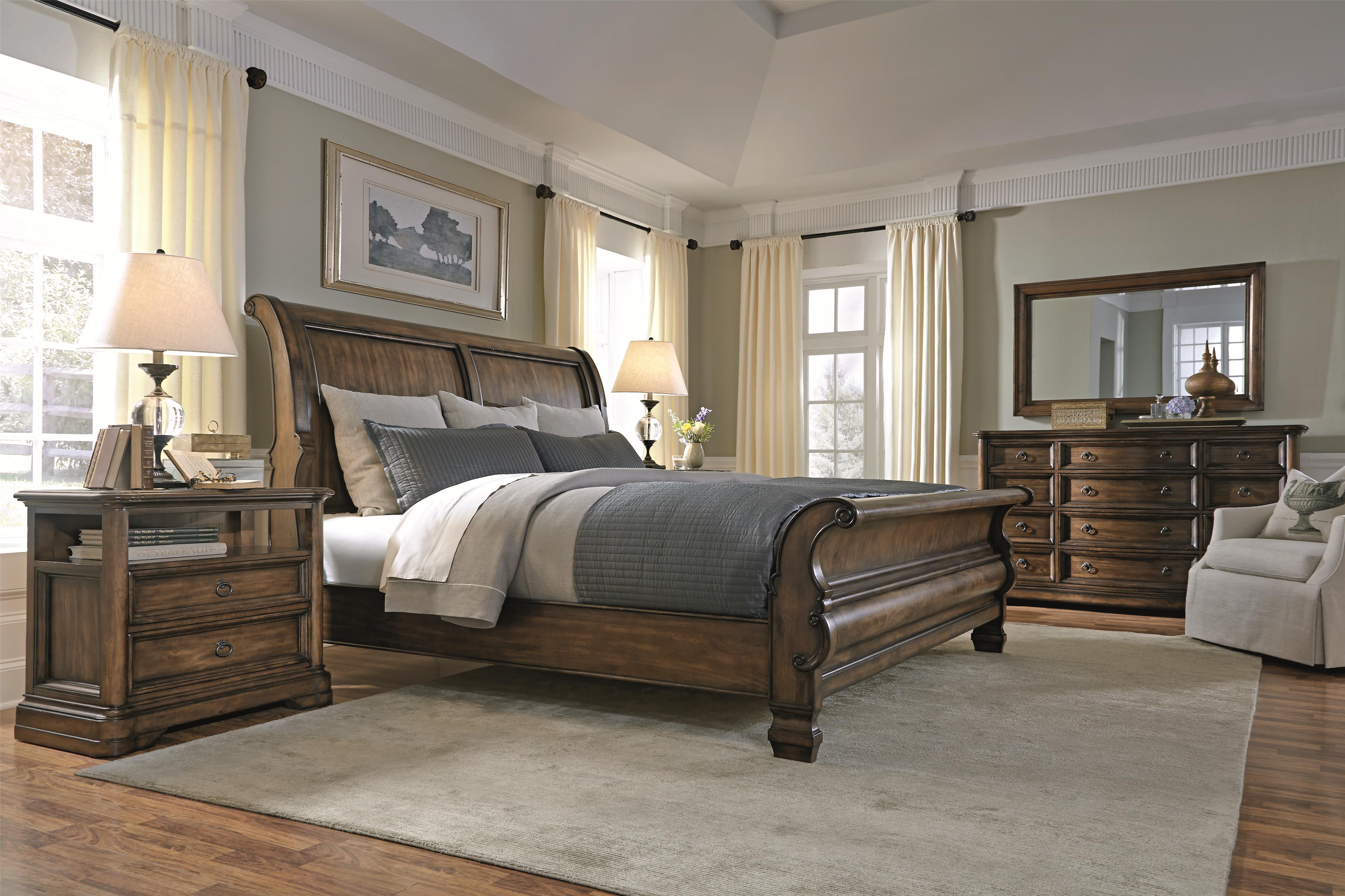 Bernhardt Montebella Queen Bedroom Group - Item Number: 350 Q Bedroom Group 3