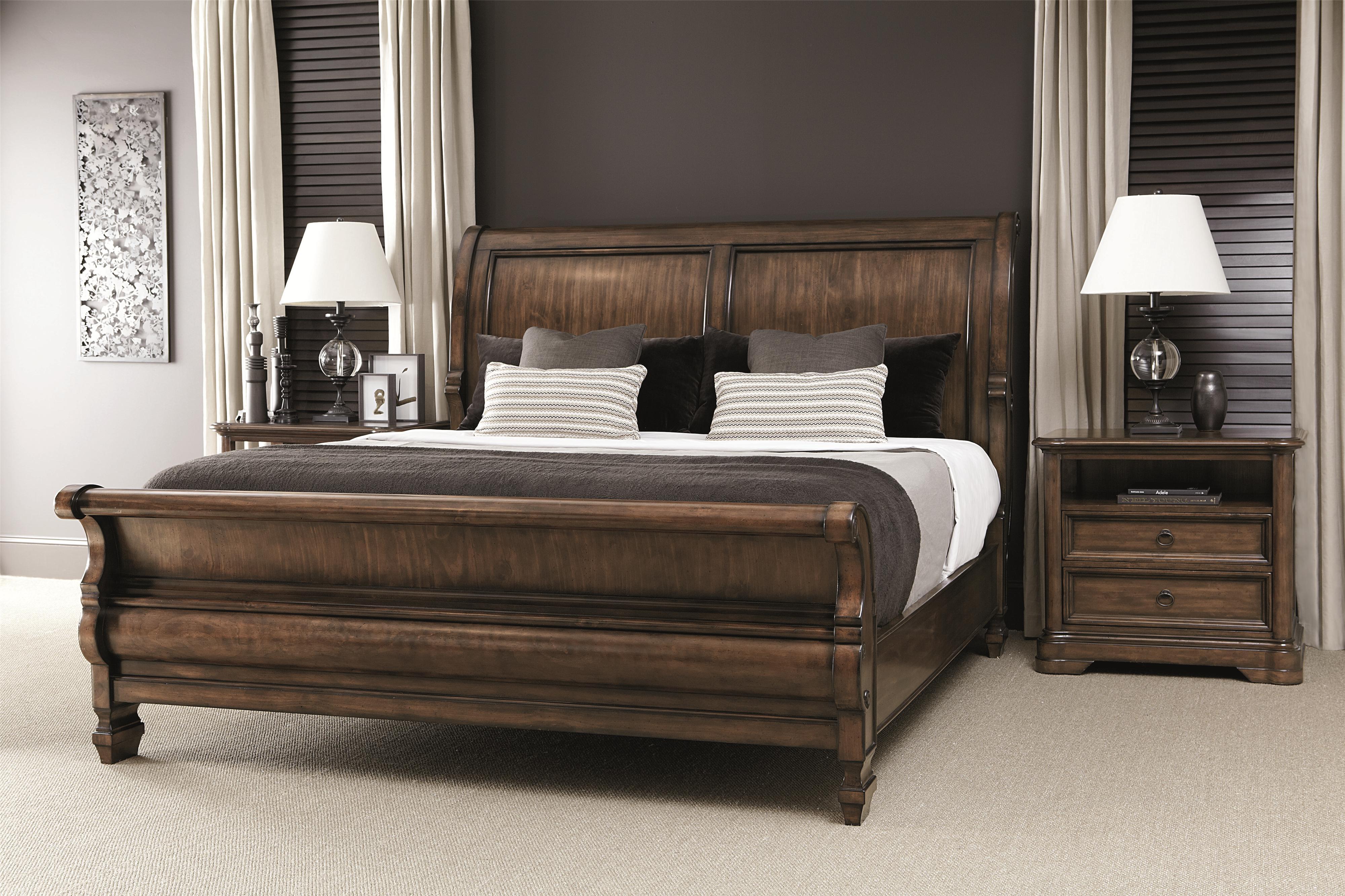 Bernhardt Montebella King Bedroom Group - Item Number: 350 K Bedroom Group 5