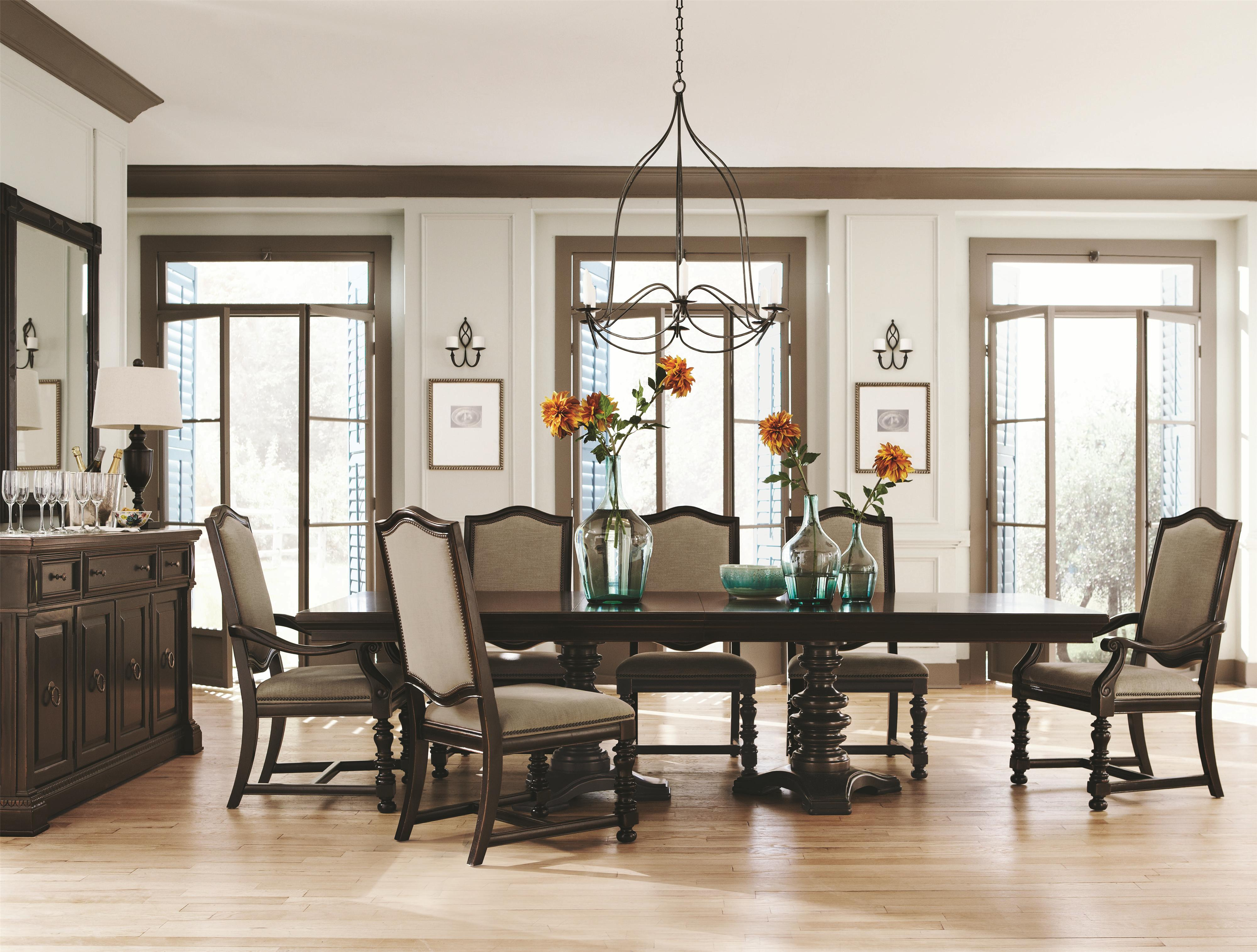 Used Bernhardt Dining Room Furniture Bernhardt Dining  : collections2Fbernhardt2Fpacific20canyon349 drp b1 from honansantiques.com size 4000 x 3030 jpeg 1057kB