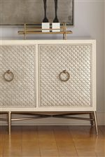 Carved Detail and Multiple Finishes Give Select Casegoods Texture and Dimension