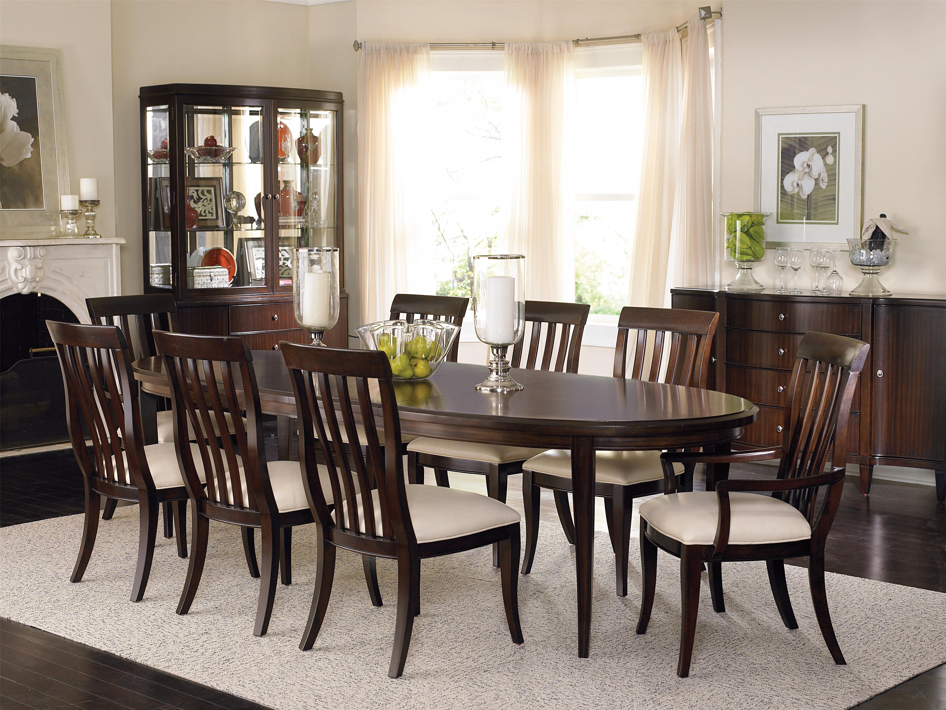Bernhardt Westwood Formal Dining Room Group - Item Number: 318 Dining Room Group 5