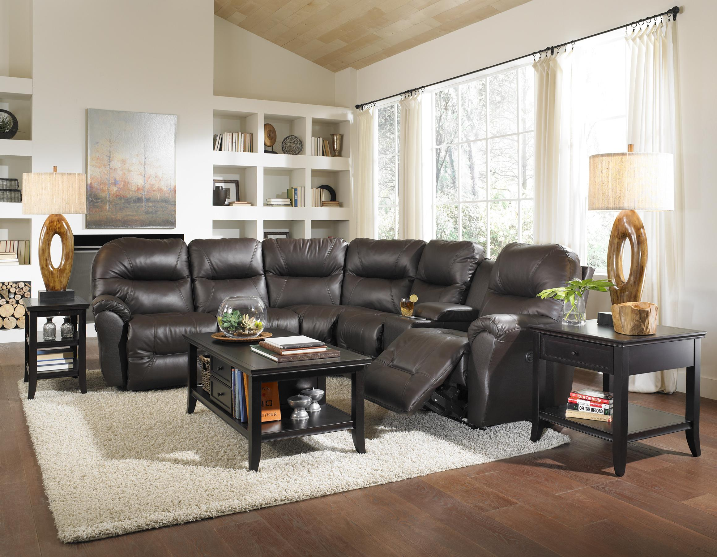 Best Home Furnishings Bodie Seater Power Reclining Home Theater