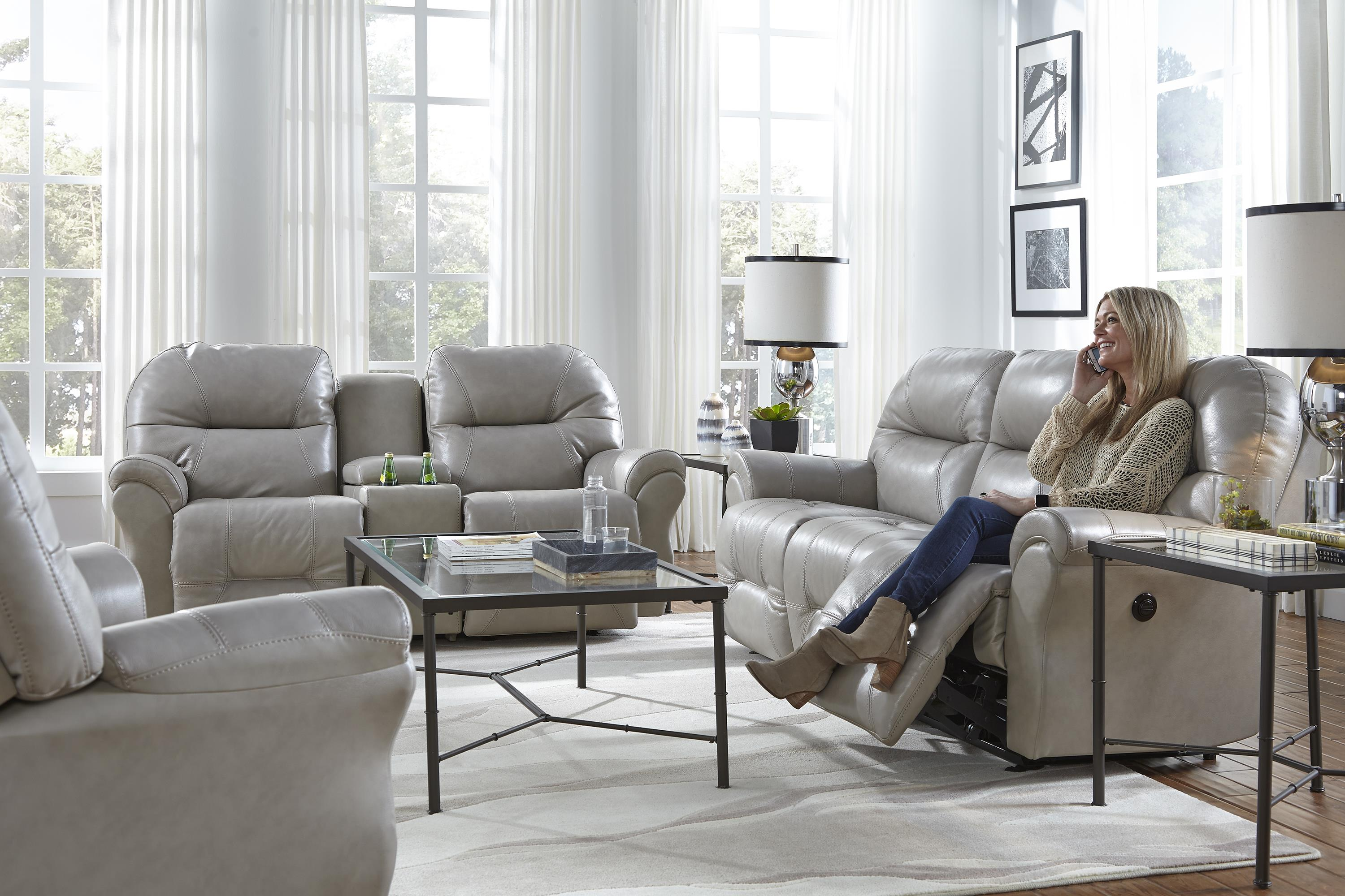 Best Home Furnishings Bo Reclining Sofa Chaise By Sofas Lesville Carmel Avon Indianapolis Indiana