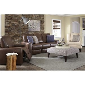 Morris Home Furnishings Celena Reclining Living Room Group