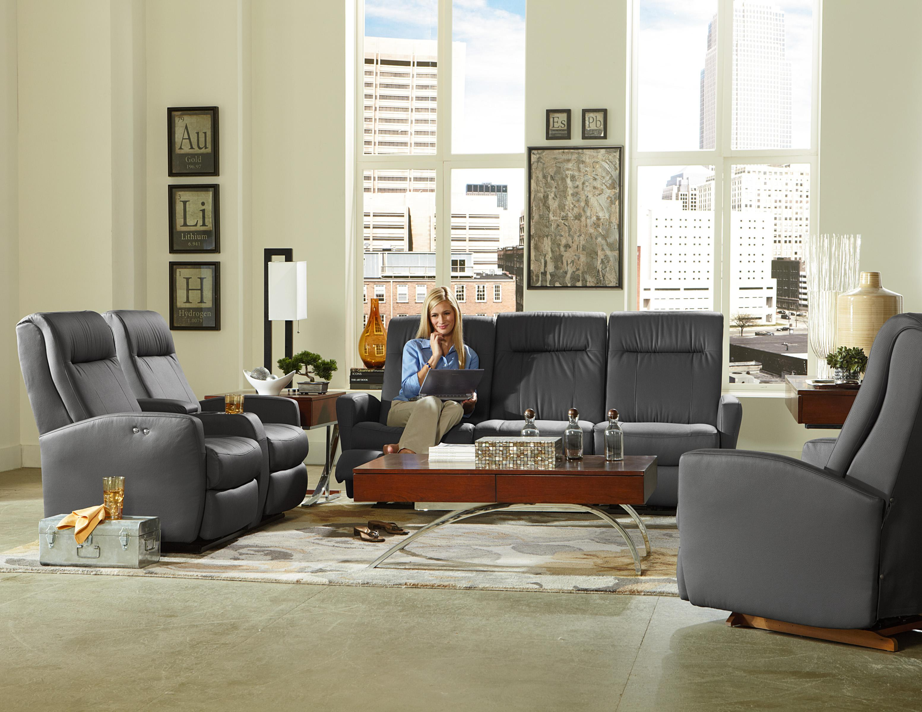 Best Home Furnishings Costilla Contemporary Space Saver Power Reclining  Loveseat With Drink Console And Charging Port | Wayside Furniture |  Reclining Love ...