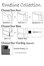 Customize Your Look in Three Easy Steps, Then Choose Your Special Order Fabric