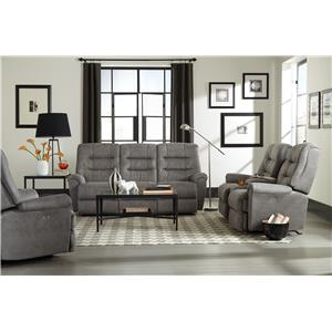 Best Home Furnishings Langston Reclining Living Room Group