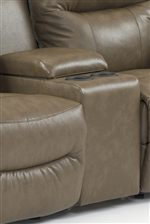 Loveseats Feature Console Storage with Two Cup Holders