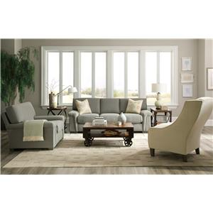 Morris Home Furnishings Oliver Stationary Living Room Group