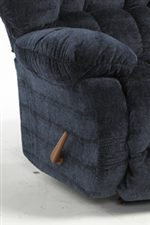 Pillow Padded Arm Rests.