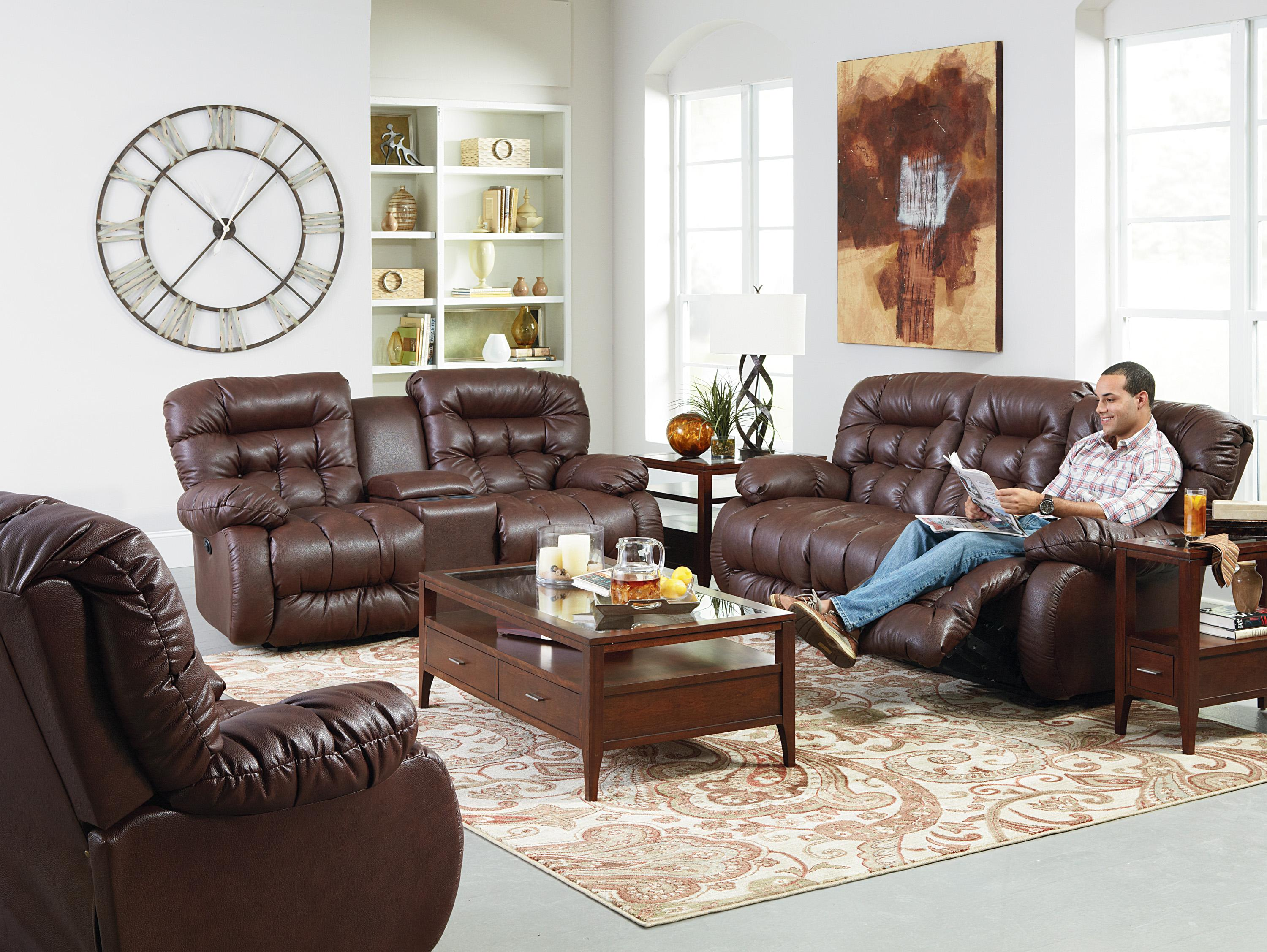 Best Home Furnishings Plusher Space Saver Reclining Sofa | Wayside  Furniture | Reclining Sofas