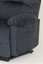 Soft, Pillow Padded Arm Rests.