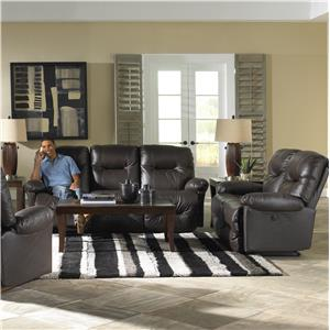 Morris Home Furnishings S501 Zaynah Reclining Living Room Group