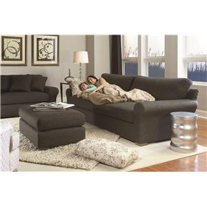Vendor 411 Sophia Transitional Wide Sofa with Removable Cushions