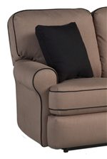 Round Arms and Hidden Inner Recline Handle