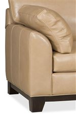 Sophisticated, Transitional Styling and Perfect Comfort Combine Effortlessly with Clean Lines and Plush Arm Pillows