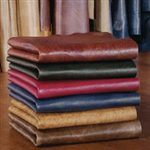 We use only the most premium, select leathers from resources around the world. Well over 250 leather selections comprise a breathtaking palette of colors and textures, all supple, natural and top grain.