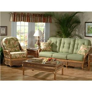 Vendor 10 Everglade Stationary Living Room Group
