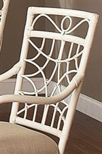 Rattan Frames with Lattice Detailing