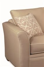Flair Tapered Arms and Loose Knife-edged Back Cushions, Both Trimmed with Welt Cords