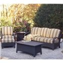Vendor 10 Brighton Pointe Outdoor Conversation - Chat Set - Item Number: 435 Outdoor Chat Set 2