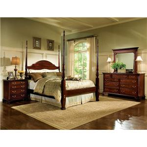 Broughton Hall Birkdale Queen Hand Carved Poster Bed