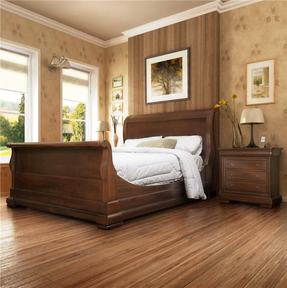Broughton Hall De Berry Traditional King Sleigh Bed   BigFurnitureWebsite    Sleigh Bed