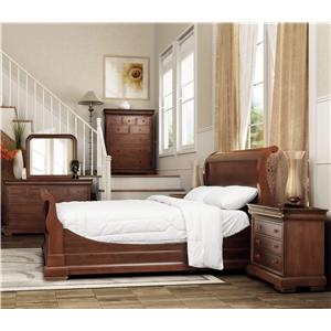 Amazing Broughton Hall De Berry Traditional King Sleigh Bed