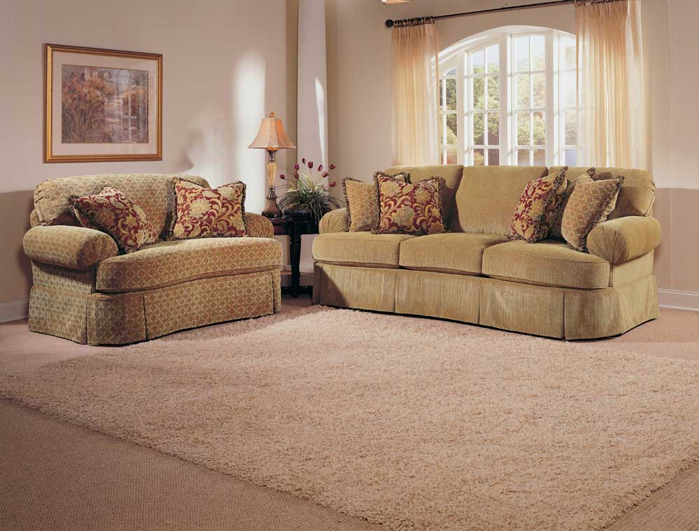 Broyhill Furniture McKinney Stationary Living Room Group - Item Number: 6544 Living Room Group 1