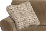 Square Accent Pillows with Center Tufted Button