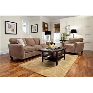Broyhill Express Maddie Stationary Living Room Group