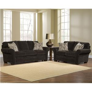 Broyhill Express Zachary Stationary Living Room Group