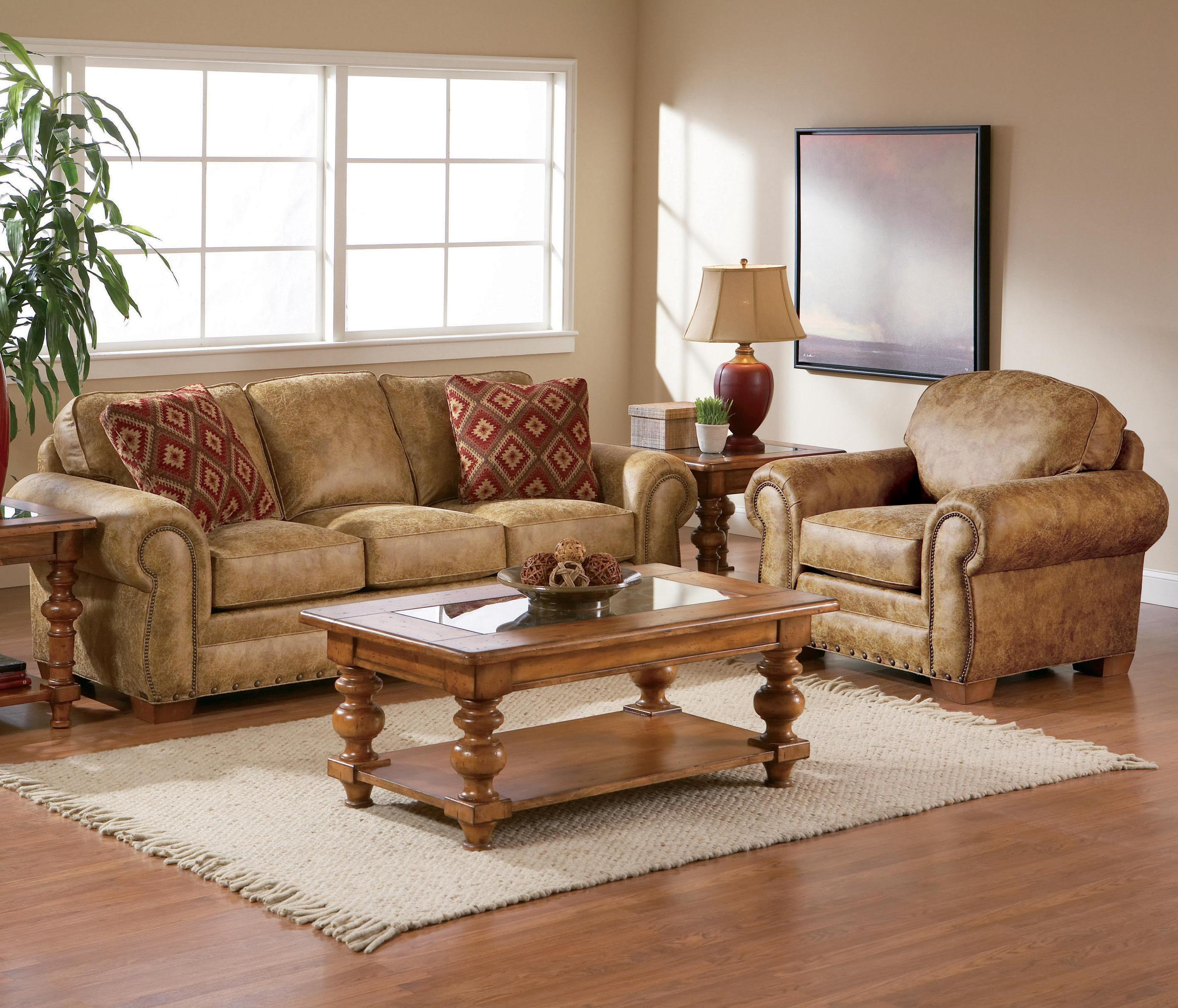 Broyhill Furniture Cambridge Stationary Living Room Group - Item Number: 5054 Living Room Group 1