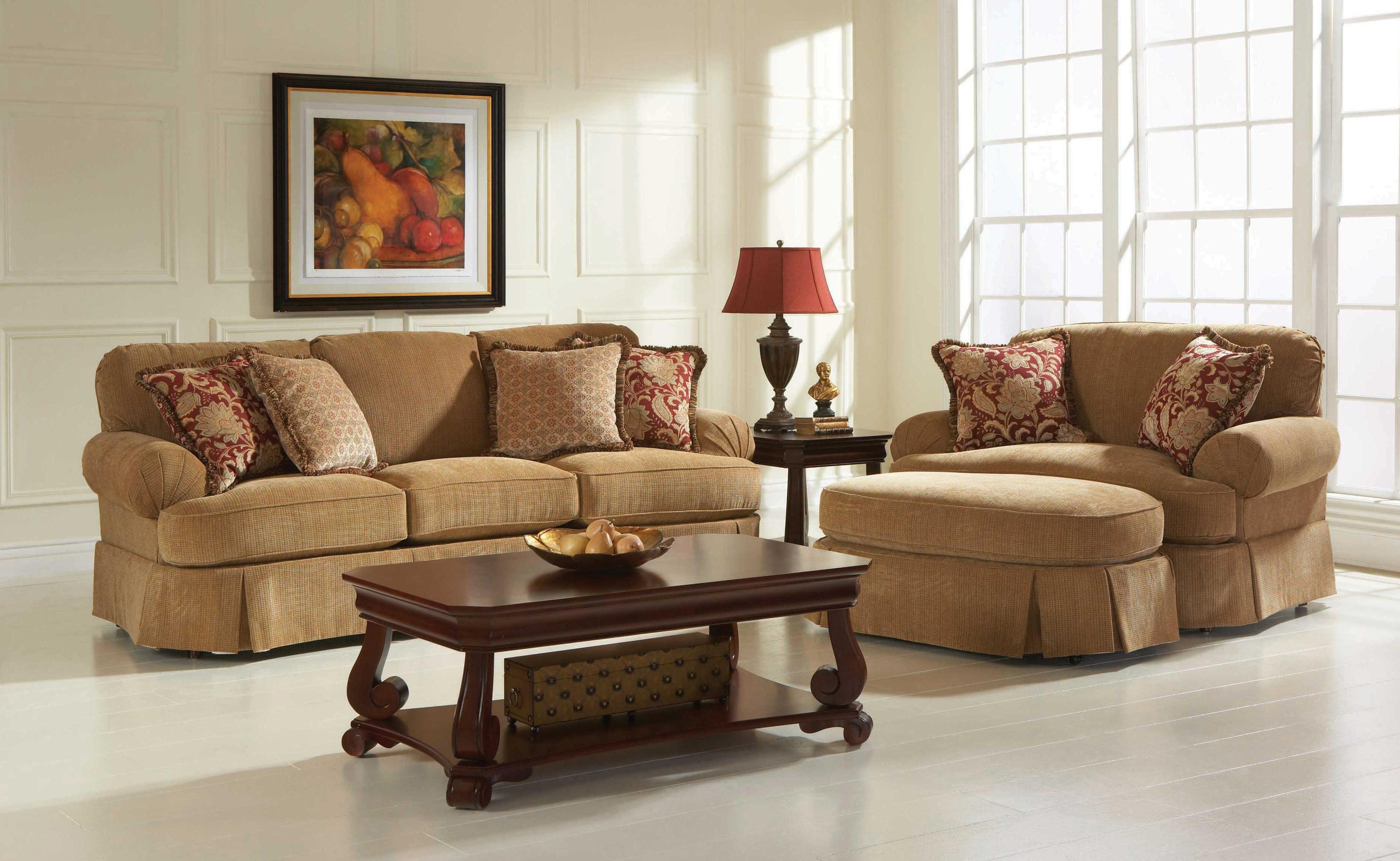 Broyhill Furniture McKinney Stationary Living Room Group - Item Number: 6544 Living Room Group 2